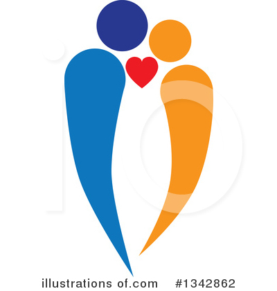 Heart Clipart #1342862 by ColorMagic