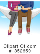 Royalty-Free (RF) Couple Clipart Illustration #1352659