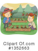 Couple Clipart #1352663 by BNP Design Studio