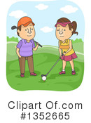 Couple Clipart #1352665 by BNP Design Studio