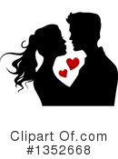 Couple Clipart #1352668 by BNP Design Studio