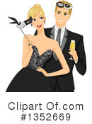 Couple Clipart #1352669 by BNP Design Studio
