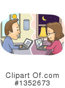 Couple Clipart #1352673 by BNP Design Studio