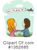 Couple Clipart #1352685 by BNP Design Studio