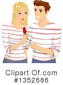 Couple Clipart #1352686 by BNP Design Studio
