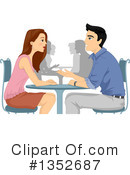 Couple Clipart #1352687 by BNP Design Studio