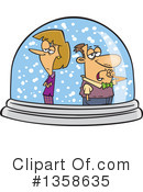 Couple Clipart #1358635 by toonaday
