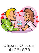 Royalty-Free (RF) Couple Clipart Illustration #1361878