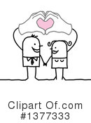 Couple Clipart #1377333 by NL shop