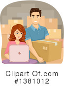 Couple Clipart #1381012 by BNP Design Studio