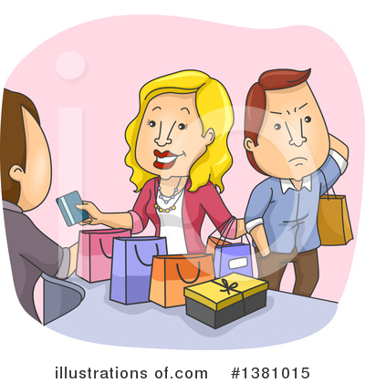 Royalty-Free (RF) Couple Clipart Illustration by BNP Design Studio - Stock Sample #1381015