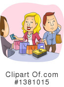 Couple Clipart #1381015 by BNP Design Studio