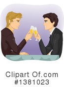 Royalty-Free (RF) Couple Clipart Illustration #1381023