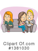 Royalty-Free (RF) Couple Clipart Illustration #1381030