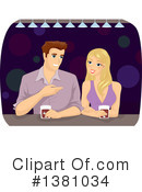 Royalty-Free (RF) Couple Clipart Illustration #1381034