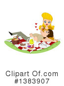 Royalty-Free (RF) Couple Clipart Illustration #1383907