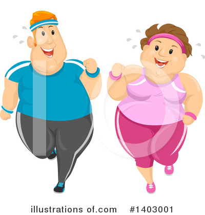 Couple Clipart #1403001 by BNP Design Studio