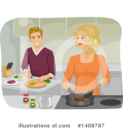 Dating Clipart #1408787 by BNP Design Studio