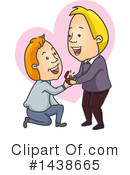 Couple Clipart #1438665 by BNP Design Studio