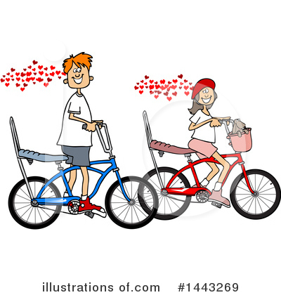 Bicycle Clipart #1443269 by djart