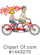 Couple Clipart #1443270 by djart