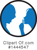 Couple Clipart #1444547 by ColorMagic