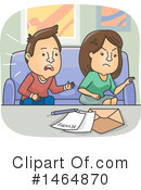 Couple Clipart #1464870 by BNP Design Studio