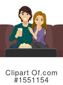 Couple Clipart #1551154 by BNP Design Studio