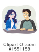 Couple Clipart #1551158 by BNP Design Studio