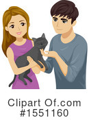 Couple Clipart #1551160 by BNP Design Studio