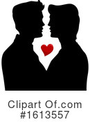 Couple Clipart #1613557 by BNP Design Studio