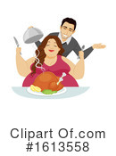 Couple Clipart #1613558 by BNP Design Studio