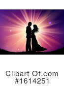 Couple Clipart #1614251 by KJ Pargeter