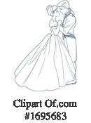 Couple Clipart #1695683 by Pushkin