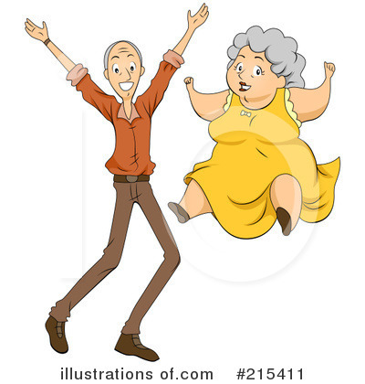 Old Couple Clipart #215411 by BNP Design Studio