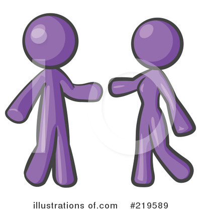 Purple Design Mascot Clipart #219589 by Leo Blanchette