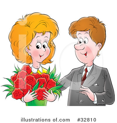 Couple Clipart #32810 by Alex Bannykh