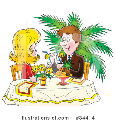 Couple Clipart #34414 by Alex Bannykh