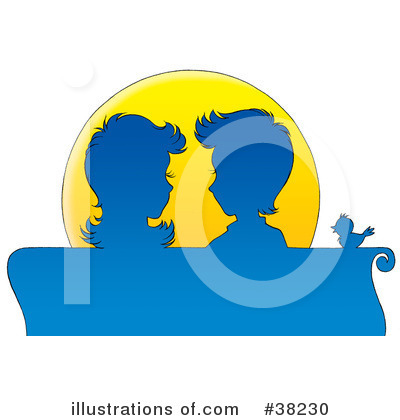 Couple Clipart #38230 by Alex Bannykh