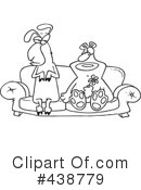 Royalty-Free (RF) couple Clipart Illustration #438779