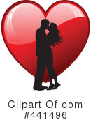 Royalty-Free (RF) couple Clipart Illustration #441496
