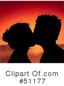 Royalty-Free (RF) Couple Clipart Illustration #51177