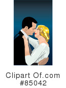 Royalty-Free (RF) couple Clipart Illustration #85042