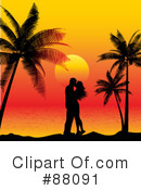Royalty-Free (RF) couple Clipart Illustration #88091