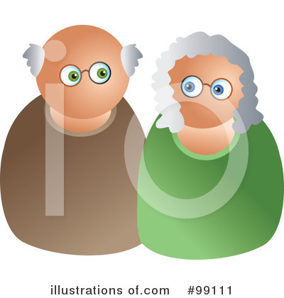 Old Couple Clipart #99111 by Prawny