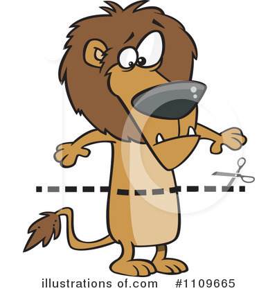 Lion Clipart #1109665 by toonaday