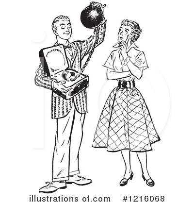 Courting Clipart #1216068 by Picsburg
