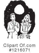 Courting Clipart #1216071 by Picsburg
