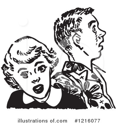Courting Clipart #1216077 by Picsburg
