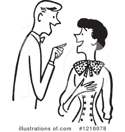 Courting Clipart #1216078 by Picsburg